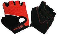 Перчатки детские без пальцев In Motion NC-1295-2010 красные L