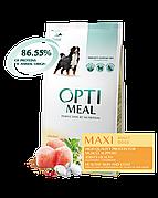 Optimeal Оптимил 12 кг для крупных пород с курицей