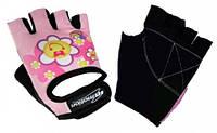 Перчатки детские без пальцев In Motion NC-1301-2010 розовый XL