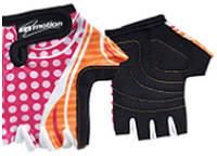 Перчатки детские без пальцев In Motion NC-1859-2012 розово-оранжевый M