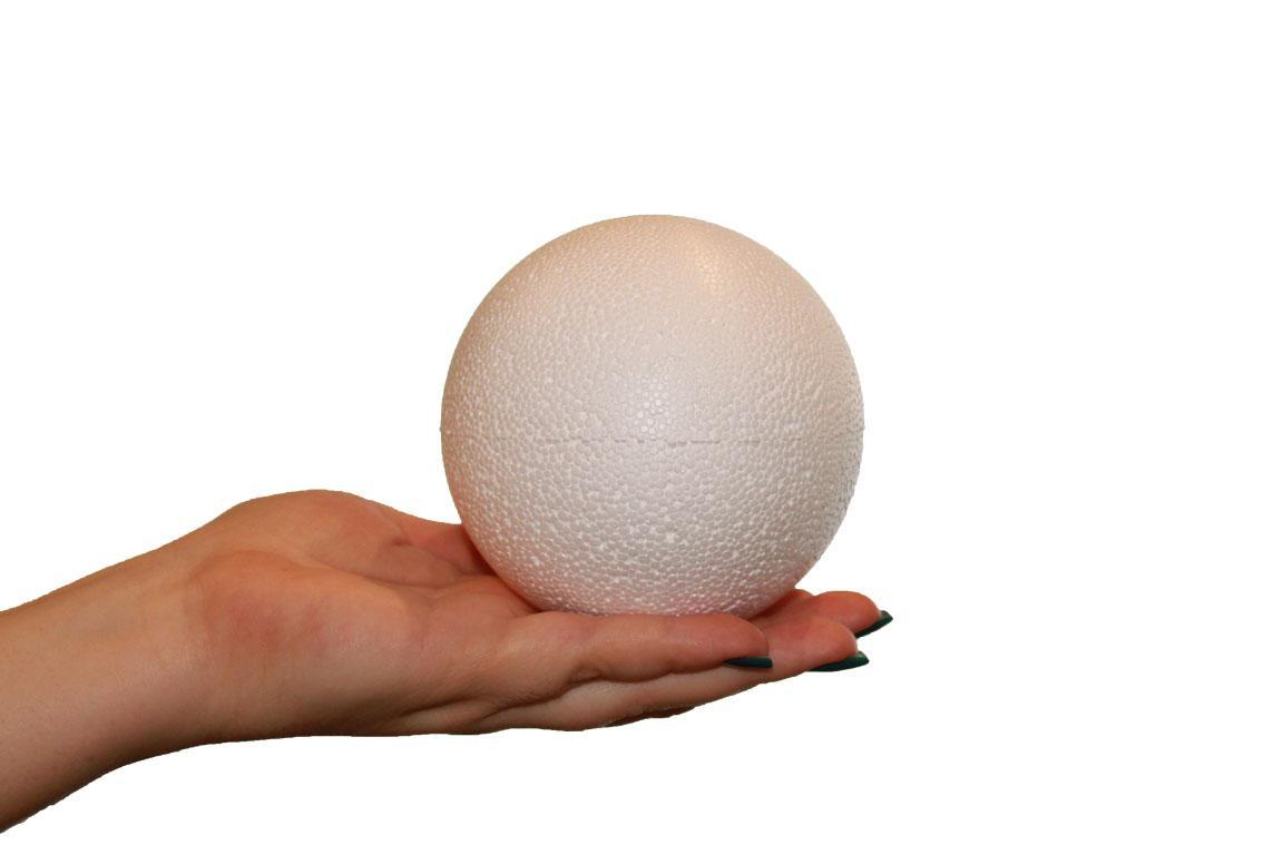 Шар пенопластовый диаметр 10 см