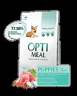 Optimeal Оптимил 12 кг для щенков с индейкой