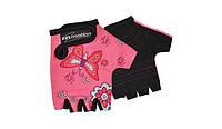 Перчатки детские без пальцев In Motion NC-2338-2014 розовый L