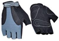 Перчатки без пальцев In Motion NC-1842-2012 черно-серые XL (шоссейные)