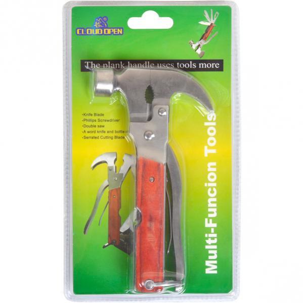 Нож карманный многофункциональный Молоток-Гвоздодер