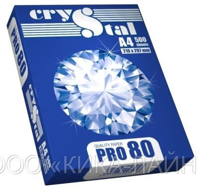 Бумага офисная Crystal PRO 80 A4 80г/м2, 500 л