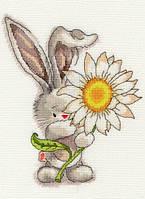 Набор для вышивания Bothy Threads XBB1 Bebunni Daisy Cross Stitch Kit
