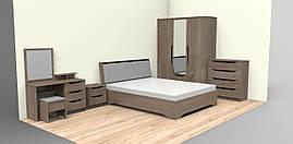 Кровать Сандра 160 + подмех