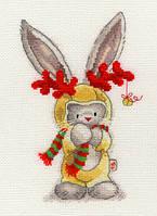 Набор для вышивания Bothy Threads XBB7 Bebunni Rudolf Cross Stitch Kit