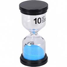 Песочные часы на 10 мин. стекло 4,5×9,5 см                                      10мин, фото 3