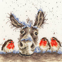 Набор для вышивания Bothy Threads XHD39 Christmas Donkey Cross Stitch Kit