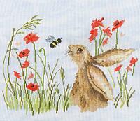 Набор для вышивания Bothy Threads XSR2 Bee Lovely Cross Stitch Kit
