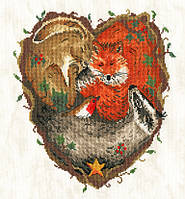 Набор для вышивания Bothy Threads XSR3 Heart of the Woodland Cross Stitch Kit