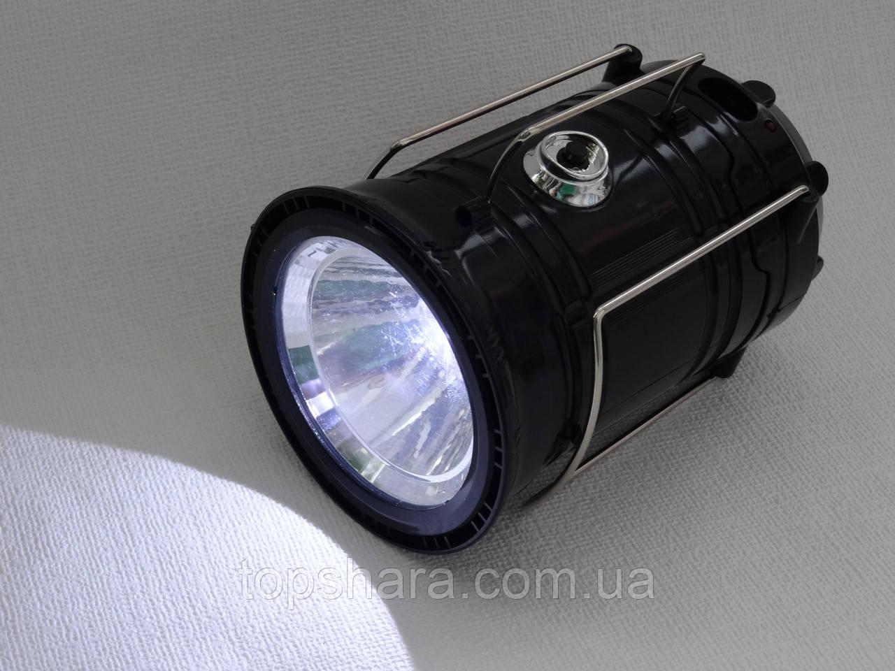 Кемпінговий акумуляторний фонарь SH-5800T сонячна батарея