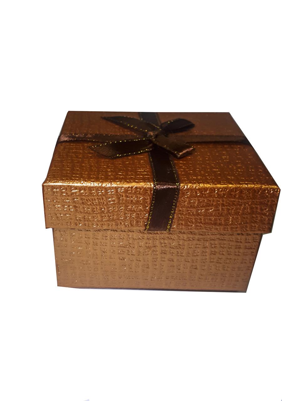 """Коробочка подарочная для часов """"Shine"""" коричневая"""