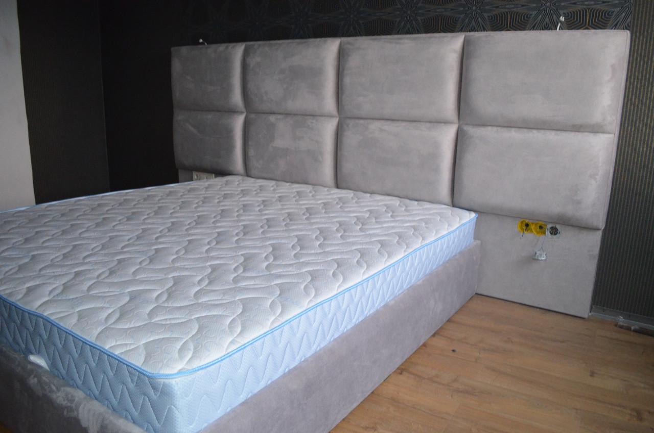 Кровать ТРЮФЕЛЬ со стеновой панелью