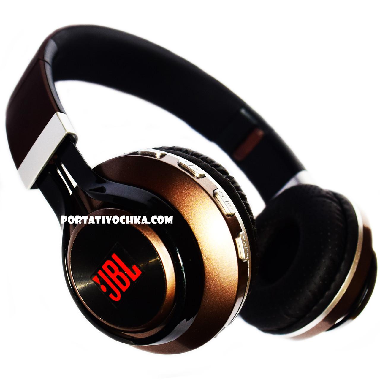 Bluetooth стерео наушники JBL B21 Беспроводные с MP3 и FM