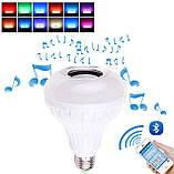 Лампа умная Bluetooth с динамиком, пультом ДУ и разноцветным свечением, фото 2