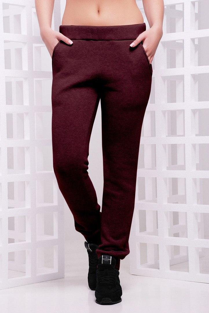 Женские спортивные штаны прямого кроя в расцветках vN3236