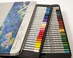 Карандаши цветные Marco Raffine 50 цветов 7100-50TN Пром-цена