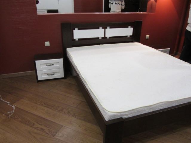 Кровать ВАЛЬС 1,6*2 (черно-белый)