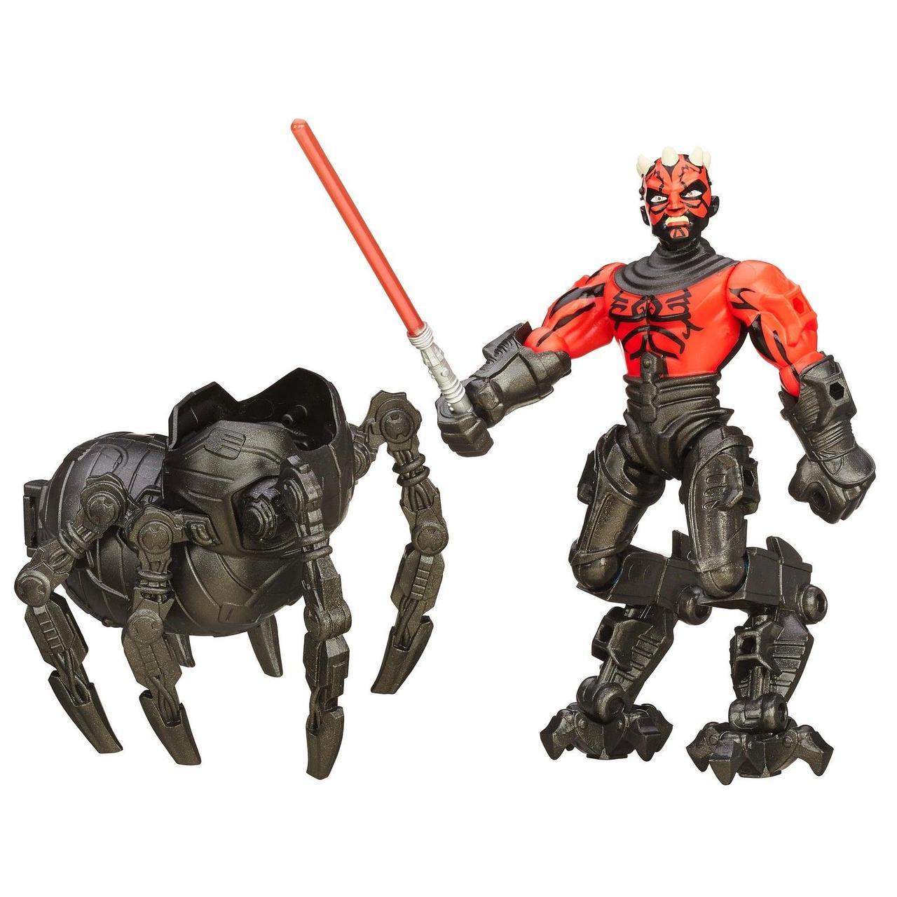 Разборная фигурка Звездные войны Дарт Мол 15 см. Оригинал Hasbro Hero Mashers B4160/B3666