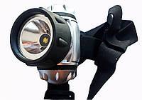 Фонарик на лоб 050-3W, фото 1