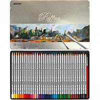 Карандаши цветные акварельные Marco Raffine 36 цветов 7120-36TN