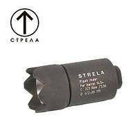 Пламегаситель СТРЕЛА для карабинов AR-15/М4/М16, фото 1