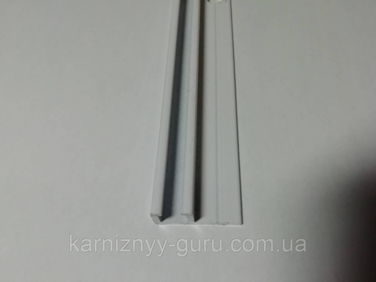 Карниз однорядный алюминиевый
