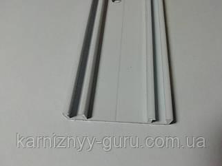 Карниз двухрядный алюминиевый