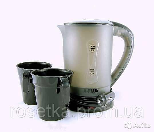 Чайник для автомобиля от прикуривателя А-Плюс 0,5л