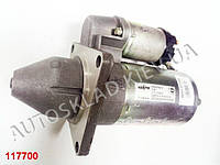 Стартер ВАЗ 2170, 1118 с редуктором на пост. магнит, КЗАТЭ (5702.3708000-15) крепл. 3 болта