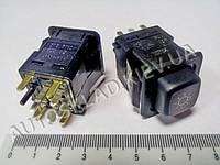 Включатель-кнопка света ВАЗ 2108 низк. панель, Таврия, Псков (375.3710-05.05М)