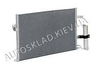 Радиатор кондиционера Lacetti, Лузар (LRAC 0578) с ресивером