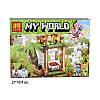Конструктор Морковные плантации  Lele My World 33178 4 вида блоком 8шт 101 деталь, фото 5