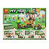 Конструктор Морковные плантации  Lele My World 33178 4 вида блоком 8шт 101 деталь, фото 6