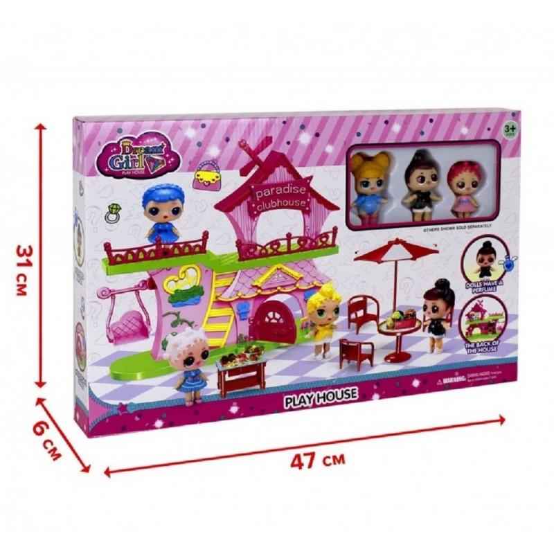 Игровой набор Клубный дом Paradise LOL 588-5