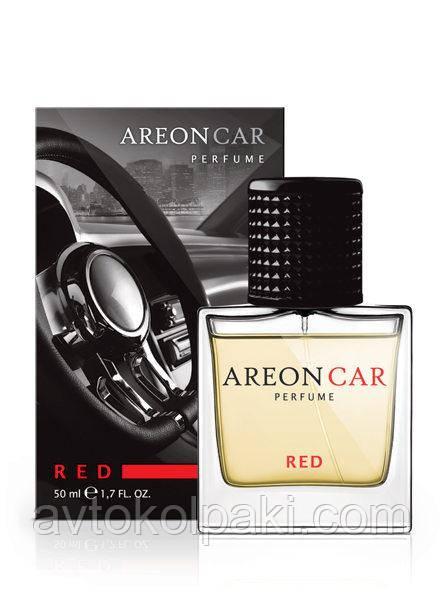 Ароматизатор в авто Красный ( Red )  Areon LUX Perfume 50 ml