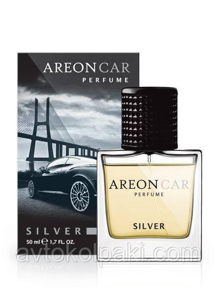 Ароматизатор в авто Сильвер ( Silver ) Areon LUX Perfume 50 ml