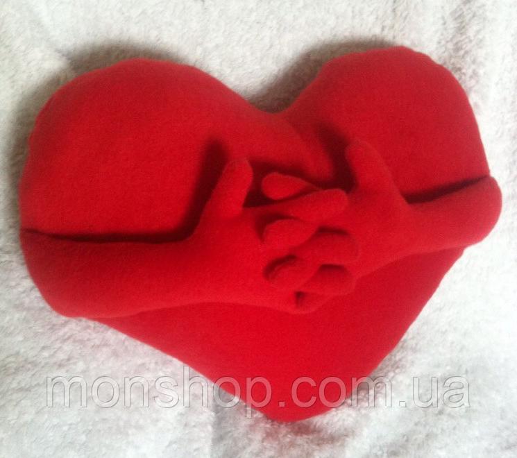 Подушка Серце з ручками