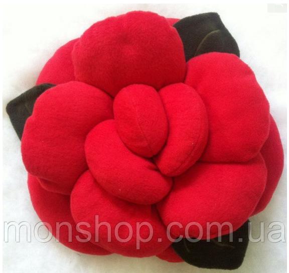 Подушка Троянда