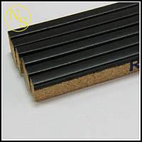 Пробковый порожек (компенсатор) RG 101 черный 900х15х7мм , фото 1