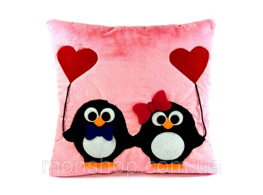 Подушка з пінгвінами