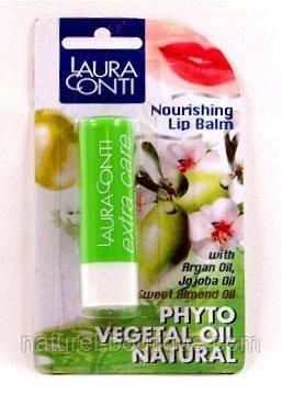 Бальзам для губ Laura Conti Фито питательный  в блистерной упаковке