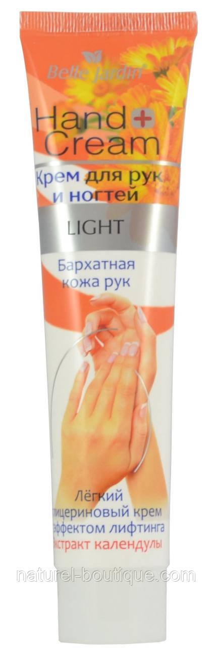 Крем для рук и ногтей Belle Jardin бархатная  кожа с экстрактом Календулы