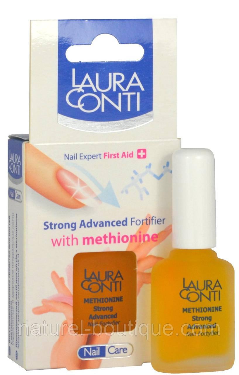 Восстанавливающий препарат Laura Conti для  мягких и ломких ногтей на основе метионина