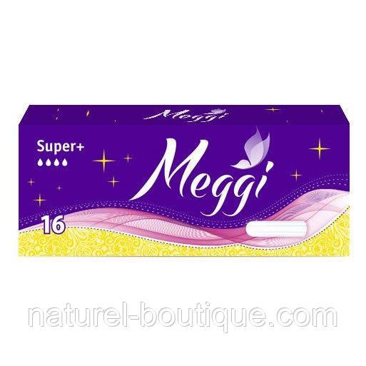 Гигиенические тампоны Meggi Super + 16 шт