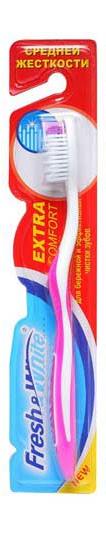 Зубна щітка Meggi Fresh&White Extra Comfort, середньої жорсткості
