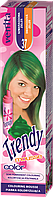 Красящий мусс для волос Venita TRENDY COLOR 37 Изумрудная  зелень